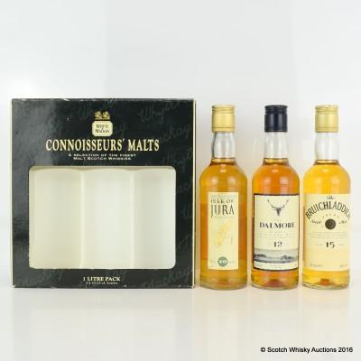 Whyte & Mackay Connoisseurs' Malts 3 x 33.3cl