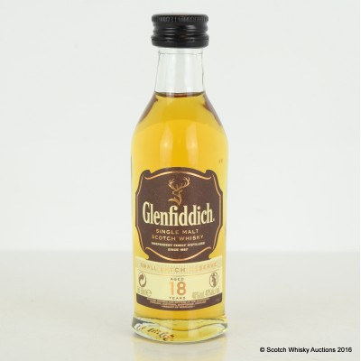 Glenfiddich 18 Year Old Mini 5cl