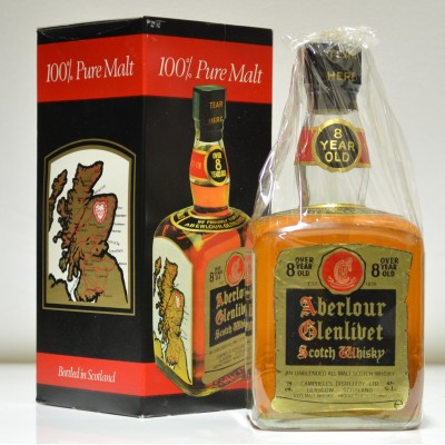 Aberlour Glenlivet  8 Year Old Dumpy Bottle