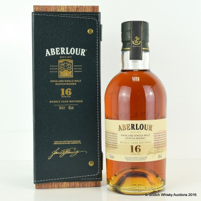 Aberlour 16 Year Old in Leather Case