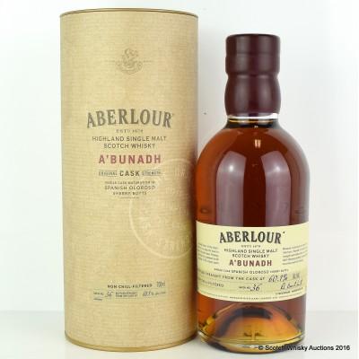 Aberlour A'Bunadh Batch #36