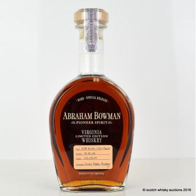 Abraham Bowman 2006 Bourbon Limited Edition 75cl