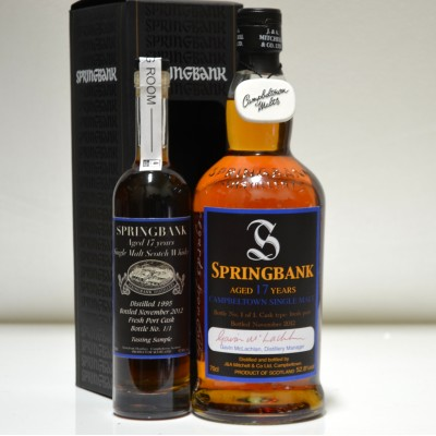 Springbank 17 Year Old - Bottle No 1 of 1