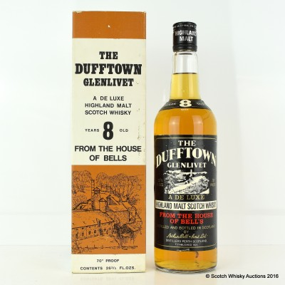Dufftown-Glenlivet 8 Year Old 26 2/3 Fl Oz