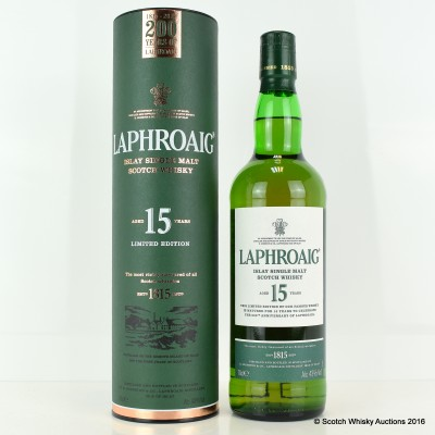 Laphroaig 15 Year Old 200 Year Anniversary
