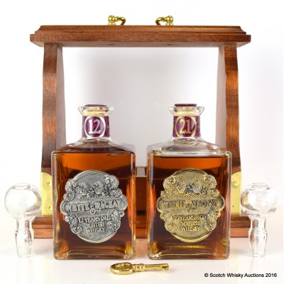 Whyte & Mackay 21 Year Old & 12 Year Old Tantalus