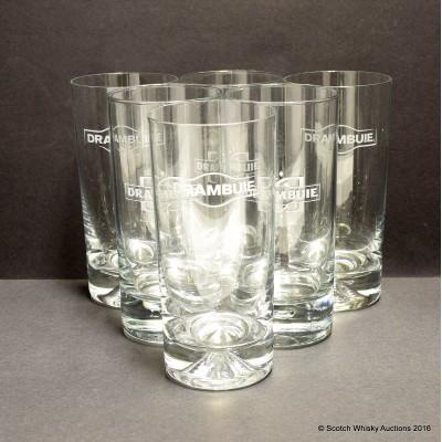 Drambuie Glasses x 6