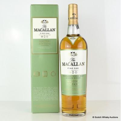 Macallan Fine Oak Master's Edition