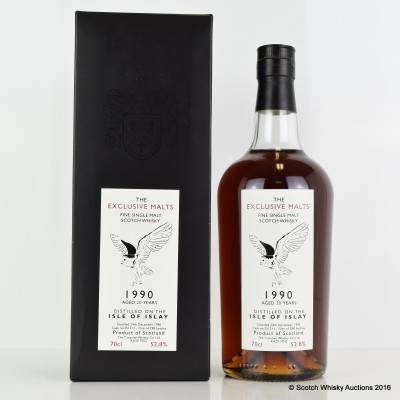 Isle Of Islay 1990 20 Year Old Creative Whisky Co
