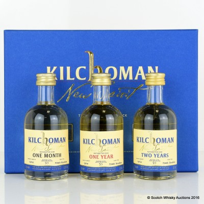 Kilchoman New Spirit Mini Set 3 x 5cl