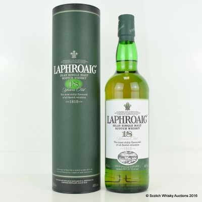 Laphroaig 18 Year Old