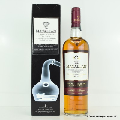 Macallan Nick Veasey Exceptional Casks Whisky Maker's Edition