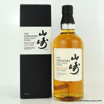 Yamazaki Mizunara Cask 2012 Release