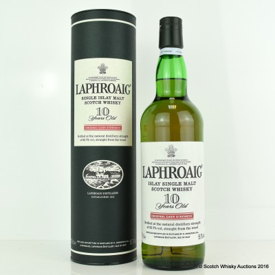 Laphroaig 10 Year Old Original Cask Strength