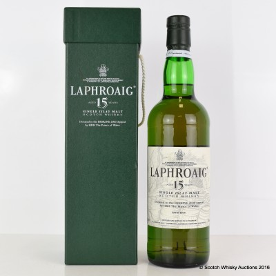 Laphroaig 15 Year Old Erskine 2000 Appeal - Craggs Label