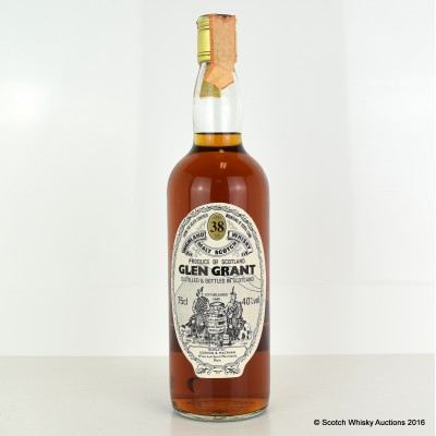 Glen Grant 38 Year Old G&M 75cl