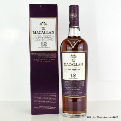 Macallan Gran Reserva 12 Year Old
