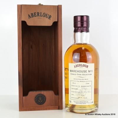 Aberlour Warehouse No 1 Single Bourbon Cask Selection 1985 23 Year Old