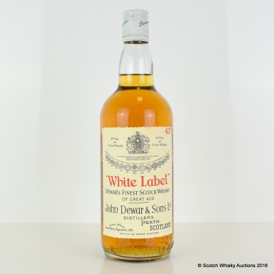 White Label 1965 75cl
