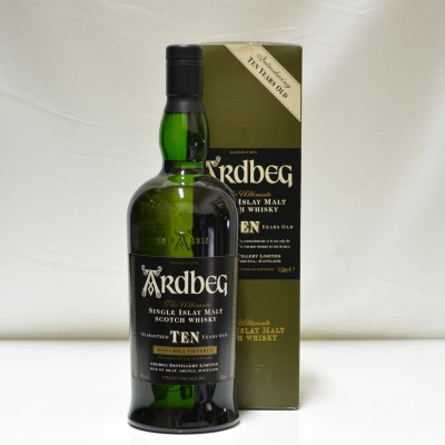 Ardbeg 10 Year Old Introducing Ten Years Old 1 Litre