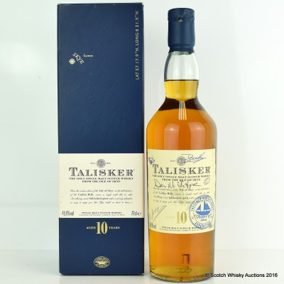 Talisker 10 Year Old The Bounty Boat Expedition