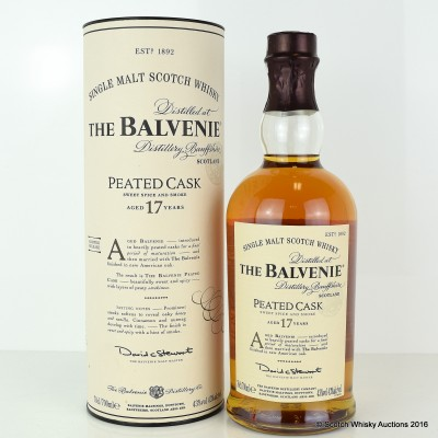 Balvenie Peated Cask 17 Year Old Limited Release