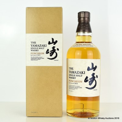 Yamazaki Puncheon 2013 Release