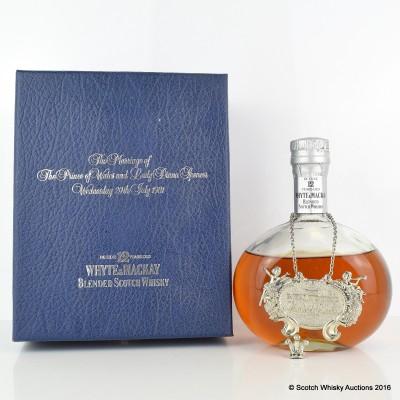 Whyte & Mackay Royal Wedding 12 Year Old 75cl