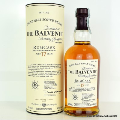Balvenie RumCask 17 Year Old