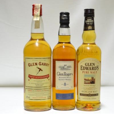 Glen Garry 1L, Glen Edwards & Glen Rogers 8