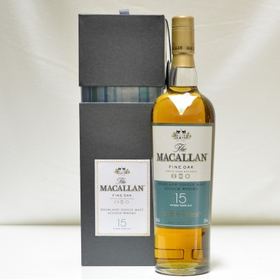 Macallan Fine Oak 15 Year Old