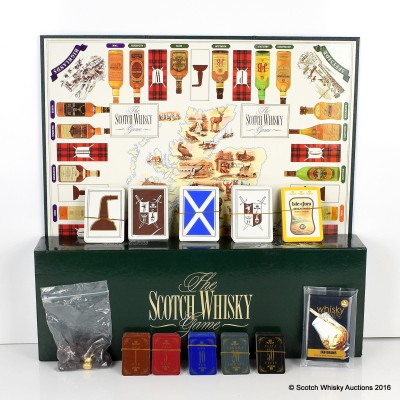 Scotch Whisky The Game & Whisky Trumps Card Game