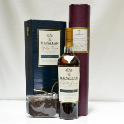 Macallan Ghillies Dram, Fly Wallet & Print