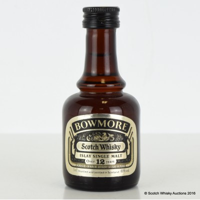 Bowmore 12 year Old Mini 5cl