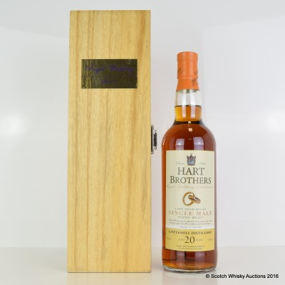 Littlemill 20 Year Old Hart Brothers Royal Wedding