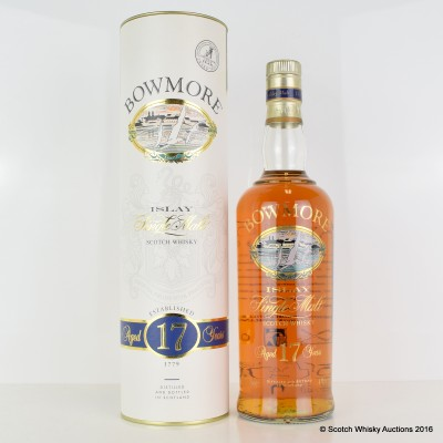 Bowmore 17 Year Old Screen Print
