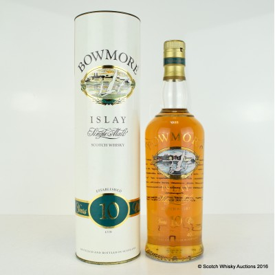 Bowmore 10 Year Old Screen Print
