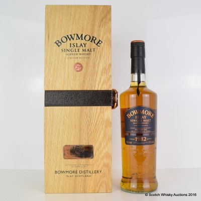 Bowmore 1982 29 Year Old Vintage Release