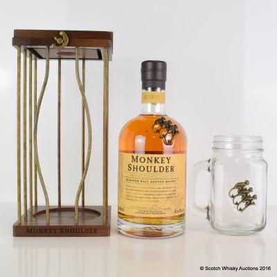 Monkey Shoulder & Glass Mug