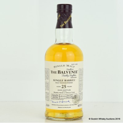 Balvenie Single Barrel 25 Year Old 20cl