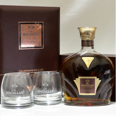 Macallan Chairman's Release & 2 Glasses