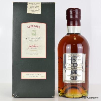Aberlour A'Bunadh Silver Label Limited Edition