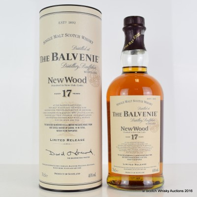 Balvenie New Wood 17 Year Old