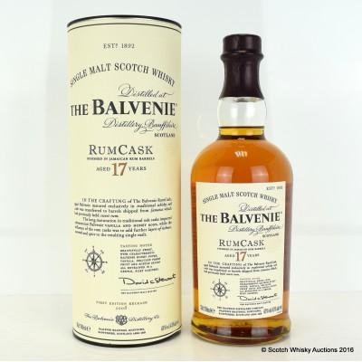 Balvenie Rum Cask 17 Year Old