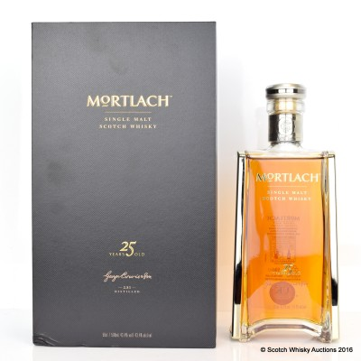 Mortlach 25 Year Old 50cl