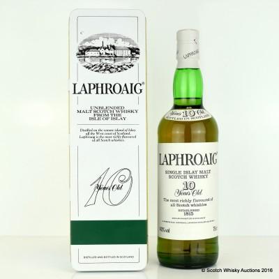 Laphroaig Pre Royal Warrant 10 Year Old 75cl