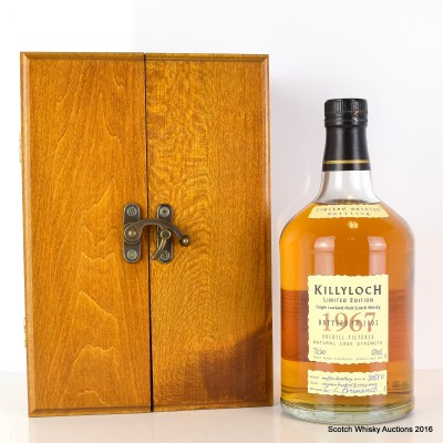 Killyloch 1967 36 Year Old