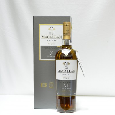 Macallan Fine Oak 21 Year Old