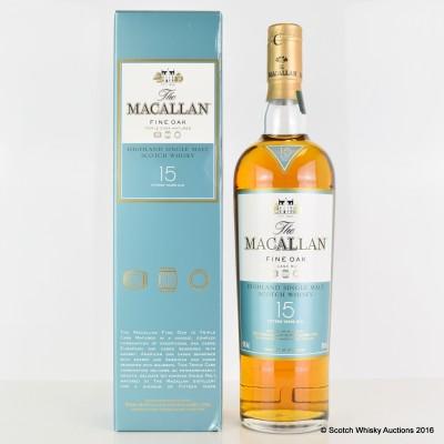 Macallan Fine Oak 15 Year Old