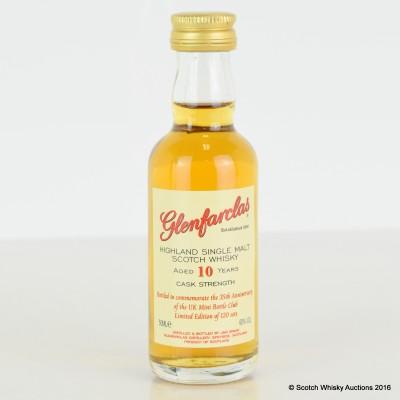 Glenfarclas 10 Year Old Cask Strength 35th Commemorative Bottling Mini 5cl